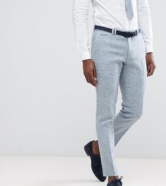 Облегающие брюки из твида Noak - Синий
