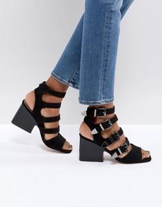Босоножки на каблуке с пряжкой ASOS TILDA - Черный