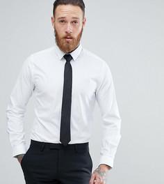 Рубашка зауженного кроя с галстуком Heart & Dagger - Белый
