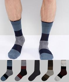 Набор из 5 пар носков Jack & Jones - Мульти