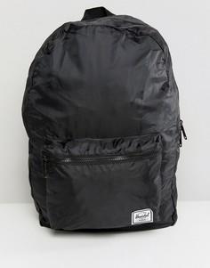 Рюкзак из ткани рипстоп Herschel Supply Co Packable Daypack - 24,5 л - Черный