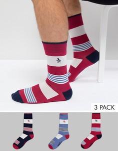 3 пары носков Original Penguin - Мульти