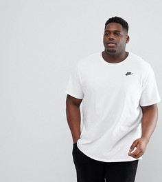 Белая футболка с логотипом Nike PLUS Futura 827021-100 - Белый
