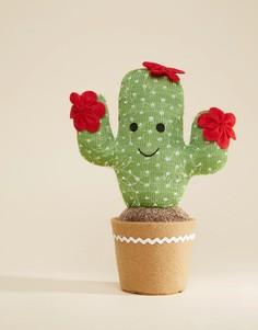 Украшение в виде улыбающегося кактуса Sass & Belle - Мульти