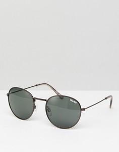 Круглые солнцезащитные очки Miss KG - Черный