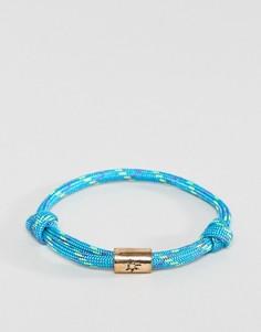 Синий браслет-шнурок Classics 77 - Синий