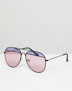 Солнцезащитные очки-авиаторы ASOS - Мульти