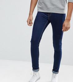 Синие супероблегающие джинсы ASOS TALL - Синий