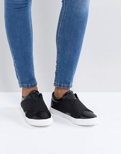 Кроссовки с эластичными ремешками London Rebel - Черный