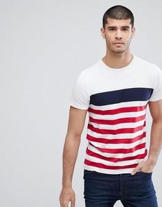 Белая футболка в полоску Tommy Hilfiger Nas - Белый