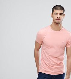 Розовая эластичная футболка Tommy Hilfiger эксклюзивно для ASOS - Розовый