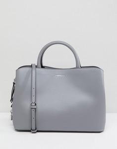 Серая сумка-тоут с тремя отделениями Fiorelli Bethnal - Серый