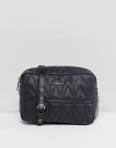 Стеганая сумка через плечо Fiorelli Lola - Черный