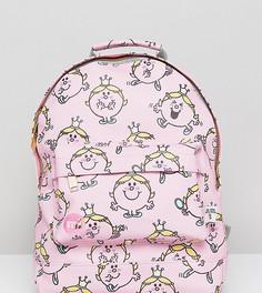 Эксклюзивный мини-рюкзак с принтом принцессы Little Miss от Mi-Pac - Розовый