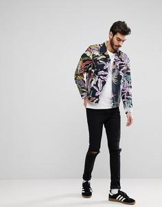 Джинсовая куртка с гавайским принтом Levis - Черный Levis®