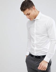 Белая рубашка зауженного кроя Michael Kors - Белый
