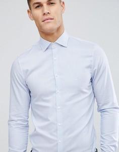 Зауженная рубашка в голубую полоску Michael Kors - Синий