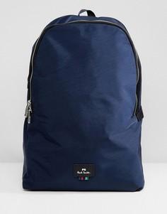 Темно-синий нейлоновый рюкзак PS Paul Smith - Темно-синий