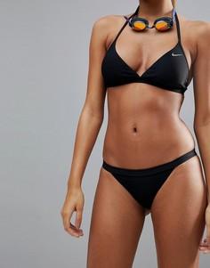Плавки-бикини в рубчик Nike Swim - Мульти