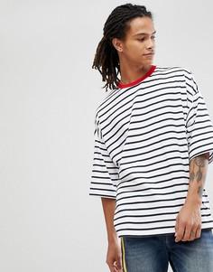 Оверсайз-футболка в полоску ASOS DESIGN - Мульти