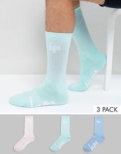 3 пары пастельных носков Hype - Розовый