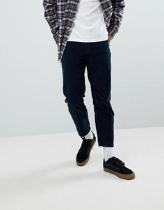 Вельветовые брюки Dr Denim Otis - Темно-синий