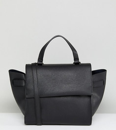 Черная структурированная сумка-тоут с ремешком через плечо Glamorous - Черный