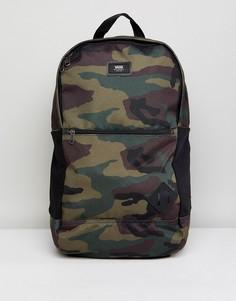 Рюкзак с камуфляжным принтом Vans Van Doren III VA2WNU97I - Зеленый