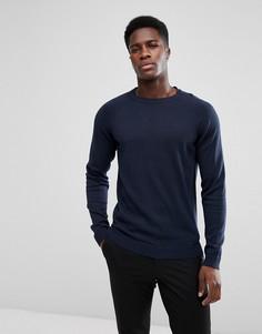 Джемпер с рукавами реглан Selected Homme - Темно-синий