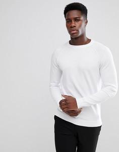 Джемпер с рукавами реглан Selected Homme - Белый