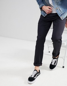 Облегающие джинсы с 5 карманами Levis Skateboarding 511 - Черный