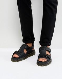 Черные сандалии Dr Martens Hayden - Черный