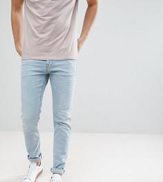 Светло-голубые джинсы скинни Noak - Синий