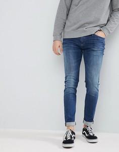 Выбеленные эластичные джинсы скинни Tommy Jeans Simon - Синий Hilfiger Denim