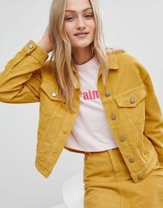 Вельветовая куртка от комплекта горчичного цвета ASOS - Желтый
