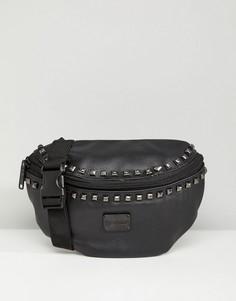 Сумка-кошелек на пояс Spiral Bijoux - Черный