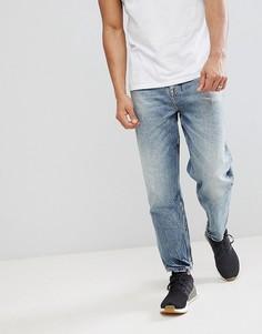 Выбеленные винтажные джинсы свободного кроя ASOS - Синий