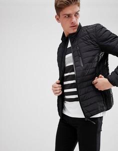 Черная пуховая куртка Esprit - Черный