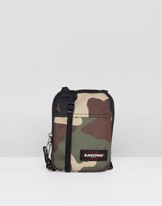 Камуфляжная сумка для авиапутешествий Eastpak Buddy - Зеленый