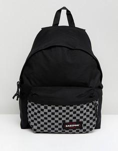 Рюкзак с шахматным узором Eastpak Padded PakR - 22 л - Черный