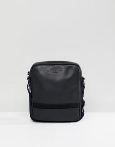 Кожаная сумка для авиапутешествий Ted Baker - Черный