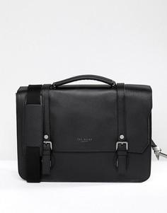 Кожаный портфель Ted Baker Nevadaa - Черный