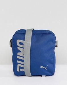 Синяя сумка Puma Pioneer 07471702 - Синий
