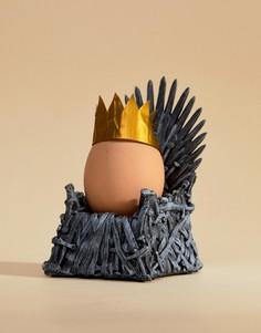 Подставка для яйца в виде трона Gift Republic - Мульти