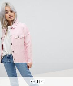 Джинсовая куртка Noisy May Petite - Розовый