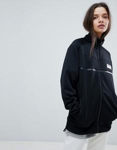 Черная спортивная куртка New Balance - Черный