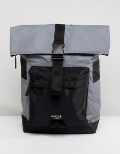 Рюкзак с отворотом Nicce London - Серый