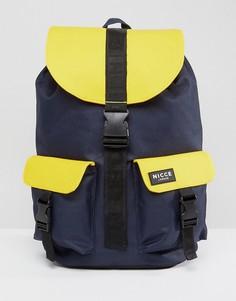 Желтый рюкзак с прорезиненной отделкой Nicce London - Желтый