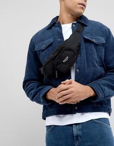 Черная сумка-кошелек на пояс Nicce London - Черный