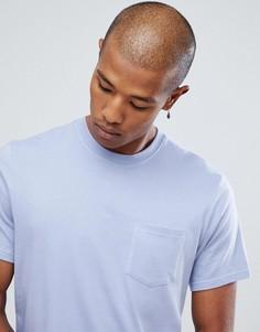 Фиолетовая базовая футболка с карманом Element - Фиолетовый